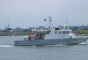 巡視艇体験乗船